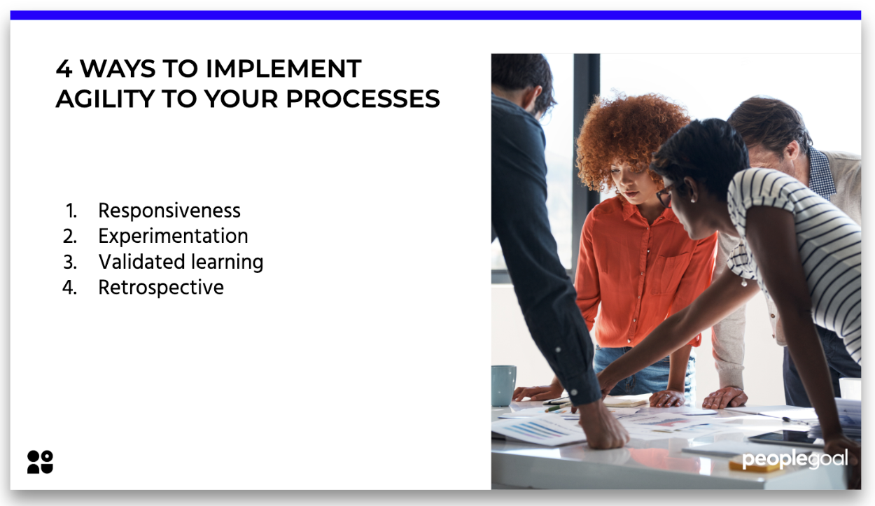 ways to implement agility to your processes