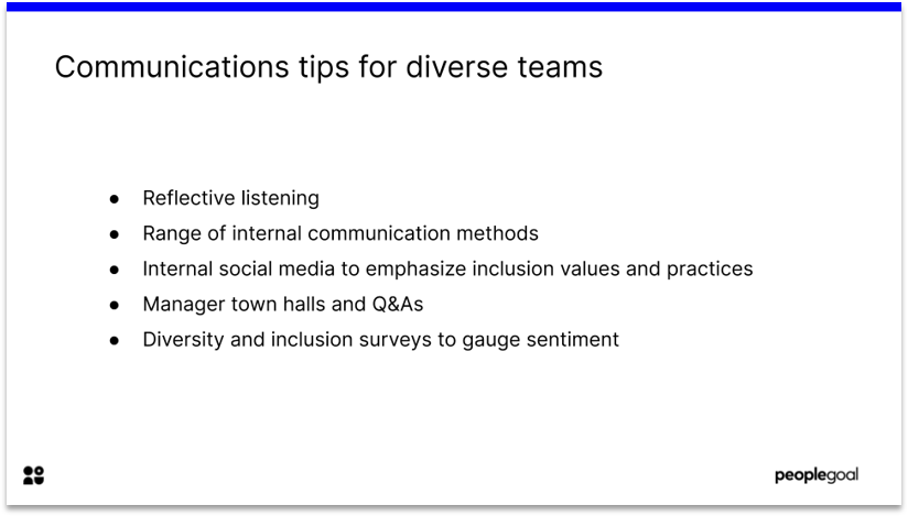 Communication tips for diversified workplaces