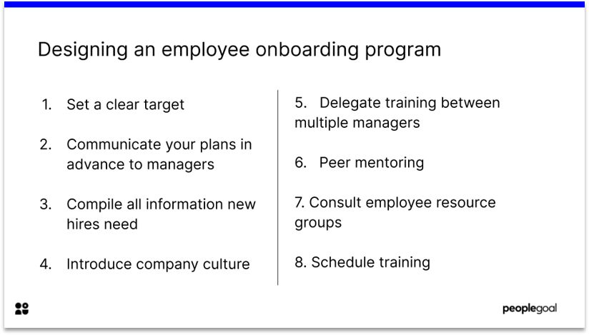 How to Design an Employee Onboarding Program