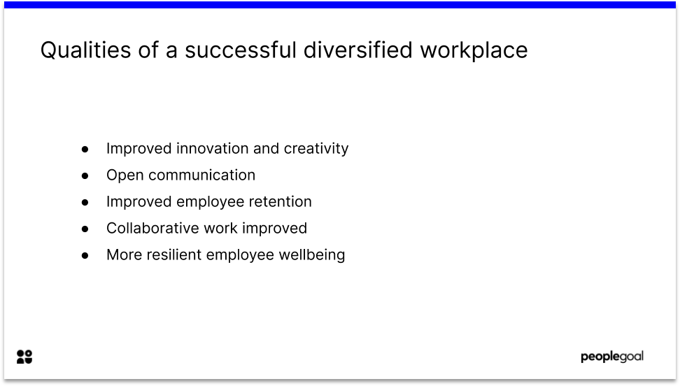 Qualities of a Successful Diversified Workplace