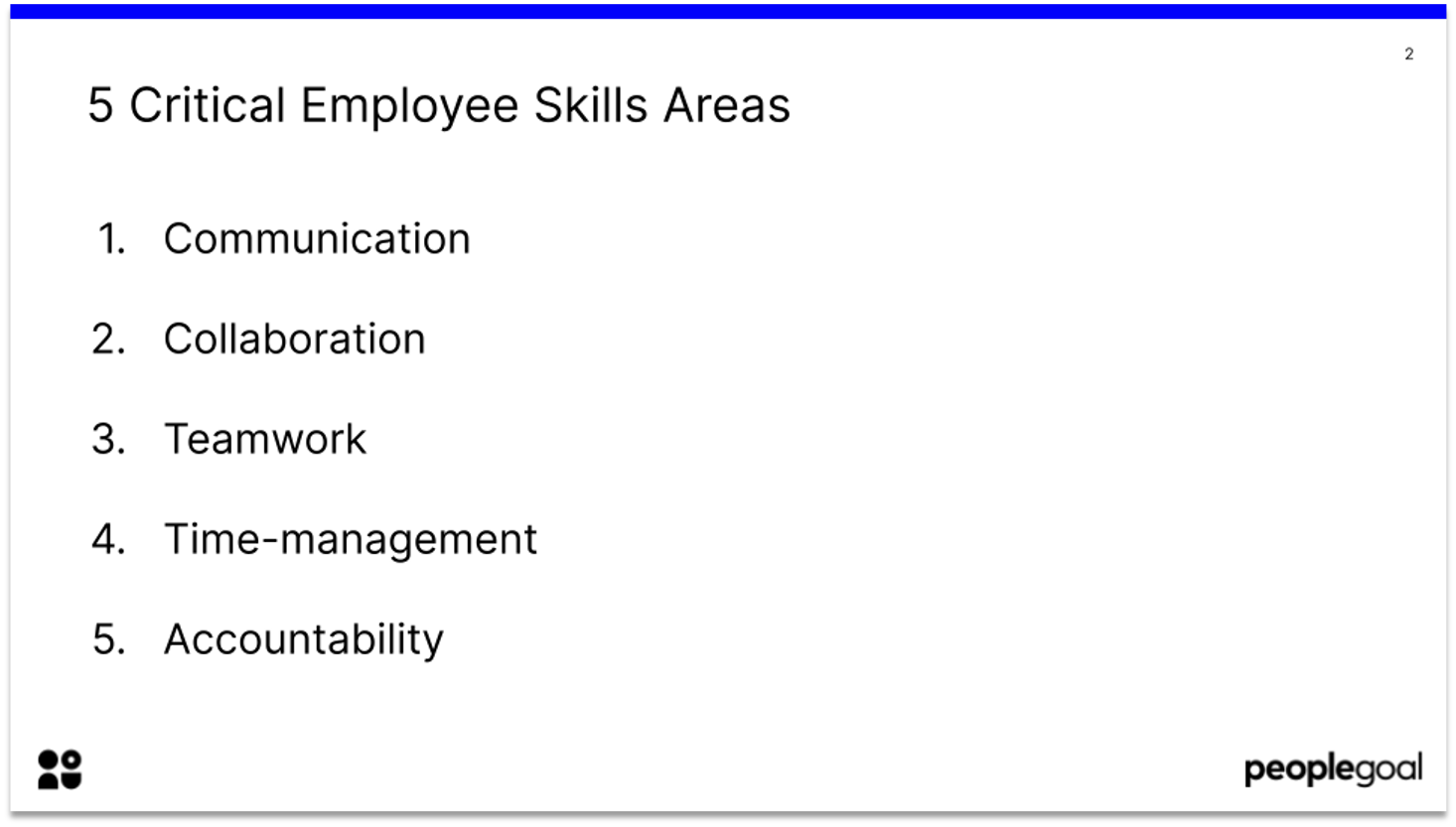 5 critical employee skills areas - manager comments for the next review cycle