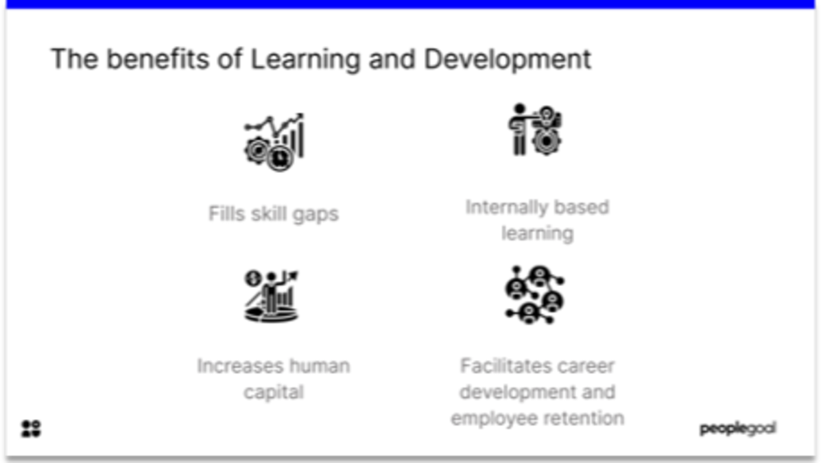 Benefits of learning and development