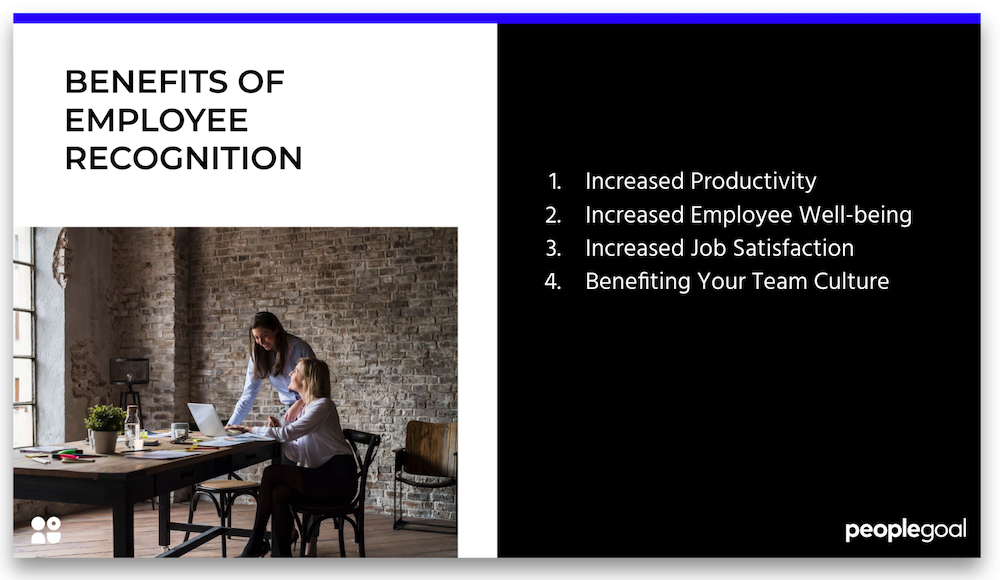 employee recognition benefits