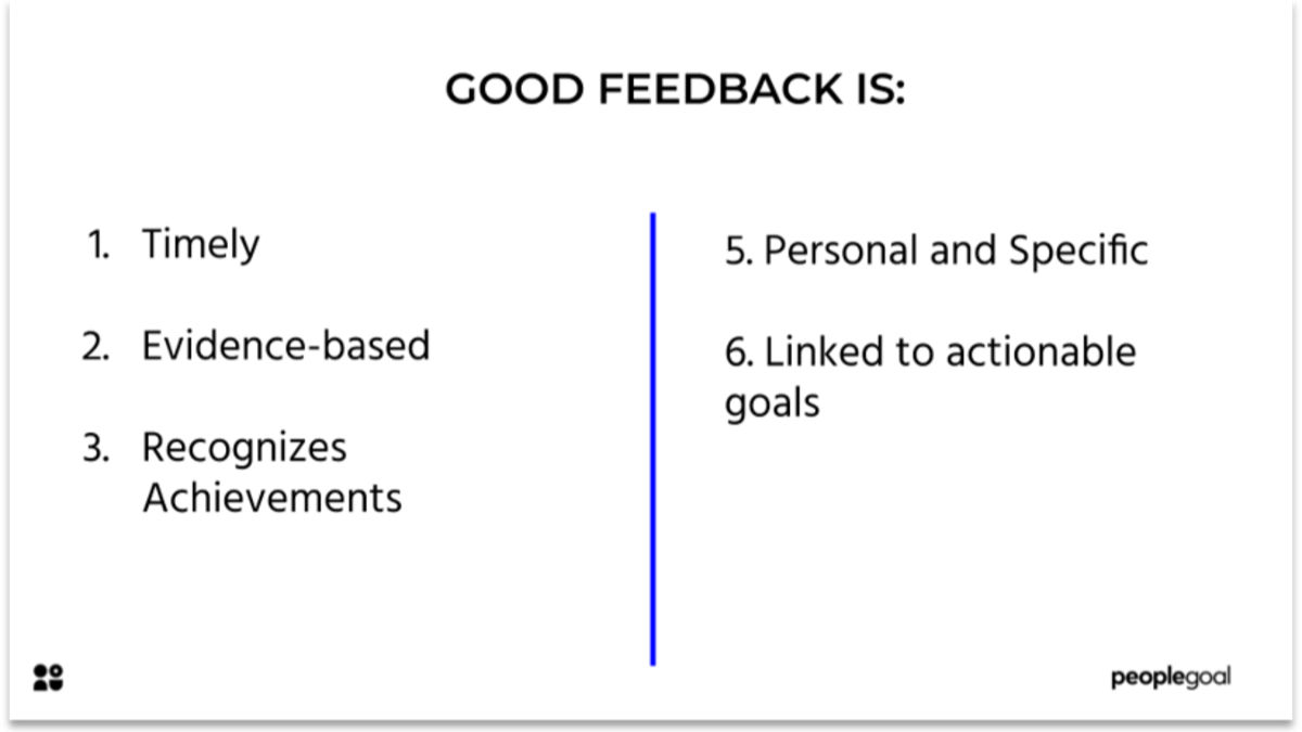 Effective Feedback for strong company culture