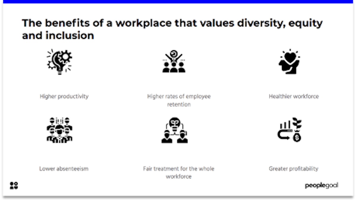 Diversity Equity and Inclusion Activities Benefits