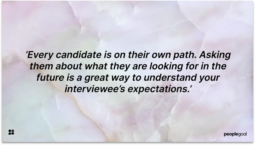 Career Path Quote for Interview Questions